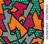 tissue vintage seamless pattern   Shutterstock .eps vector #260780633