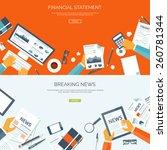 vector illustration. flat... | Shutterstock .eps vector #260781344