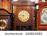 An Antique Clock Old Time...