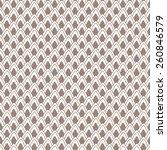 ornamental geometric pattern.... | Shutterstock .eps vector #260846579