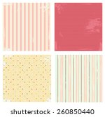 collection of vector... | Shutterstock .eps vector #260850440