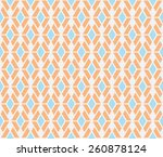 Orange And Blue Color Stripe...