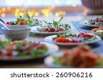 tasty appetizer | Shutterstock . vector #260906216