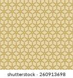 geometric outline pattern of... | Shutterstock .eps vector #260913698