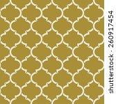 Golden Quatrefoil Pattern....