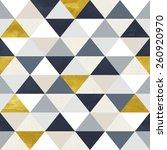 seamless geometric pattern on... | Shutterstock . vector #260920970