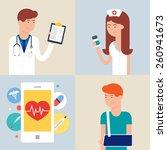 medicine   vector illustrations | Shutterstock .eps vector #260941673