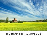countryside in finland   Shutterstock . vector #26095801