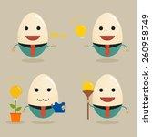 businessman get idea | Shutterstock .eps vector #260958749