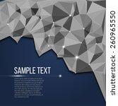 abstract vector pattern  ... | Shutterstock .eps vector #260965550