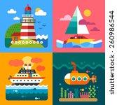 Different Sea Landscapes ...