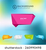 abstract colorful background... | Shutterstock .eps vector #260990498