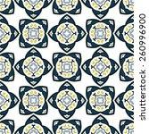 seamless pattern illustration... | Shutterstock .eps vector #260996900
