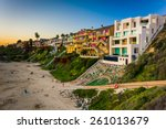Houses On Cliffs Above Corona...