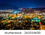 Night View Of The City Of...