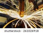 industrial welding automotive... | Shutterstock . vector #261026918