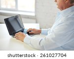 technology  business ... | Shutterstock . vector #261027704