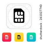 micro sim icon.