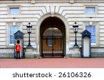 Sentry On Duty At Buckingham...