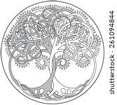 Vector Tree Of Life Emblem