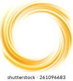 Vector Light Ocher Whirl Rippl...
