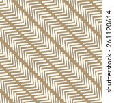 striped elements in a diagonal... | Shutterstock .eps vector #261120614