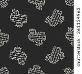 Doodle Cactus Seamless Pattern...