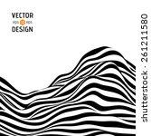 vector abstract background of... | Shutterstock .eps vector #261211580