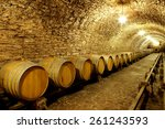 Old Cellar Of The Winery With...