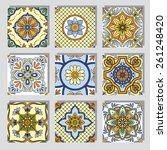 vector set with beautiful...   Shutterstock .eps vector #261248420