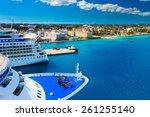 Cruise Ships In Nassau Bahamas...