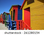Colorful Beach Huts At St Jame...