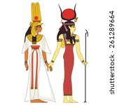 hathor  egyptian ancient symbol ...