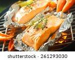 Fresh Succulent Marine Salmon...