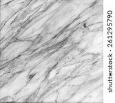 white marble texture background ... | Shutterstock . vector #261295790