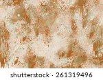 designed grunge paper texture ...   Shutterstock . vector #261319496