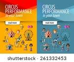 Circus Vector Banner Design...