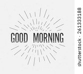 abstract creative concept... | Shutterstock .eps vector #261333188
