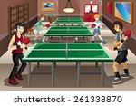 a vector illustration of... | Shutterstock .eps vector #261338870