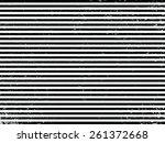 grunge stripe. vector... | Shutterstock .eps vector #261372668