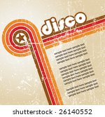 abstract disco background  ... | Shutterstock .eps vector #26140552