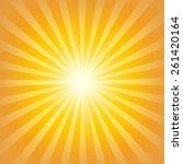 sunburst background | Shutterstock .eps vector #261420164