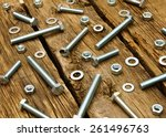working tools. fixing elements  ... | Shutterstock . vector #261496763