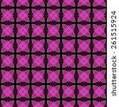abstract kaleidoscopic... | Shutterstock . vector #261515924