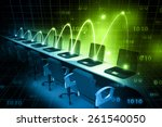 global computer network      Shutterstock . vector #261540050