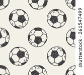 Doodle Soccer Seamless Pattern...