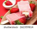 Stick Ice Cream Strawberry...