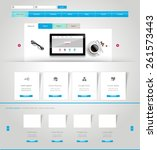 website design template vector...