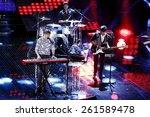 sanremo  italy   february 12 ... | Shutterstock . vector #261589478