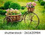decorative vintage model old... | Shutterstock . vector #261620984